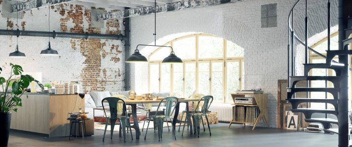 Industrial Chic property styling