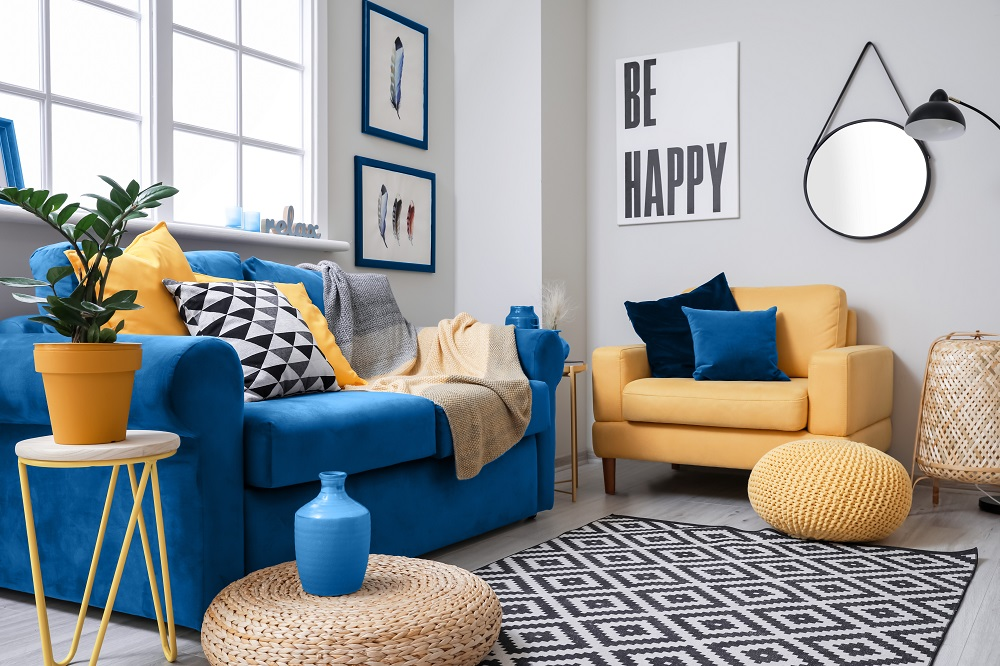 add colour to your home through styling